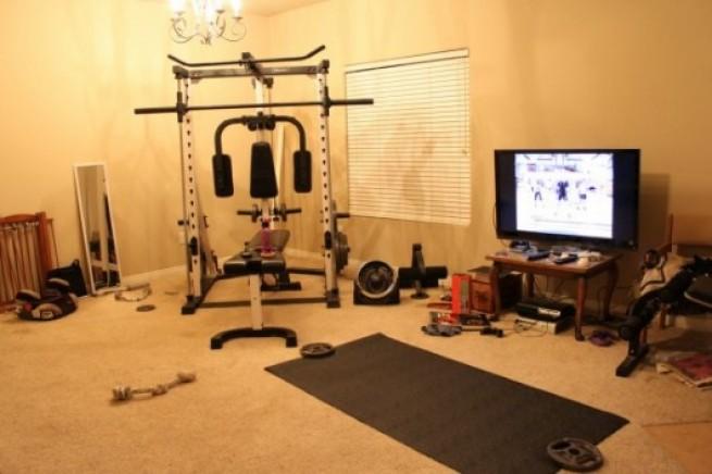 Тренажерный зал в домашних условиях своими руками
