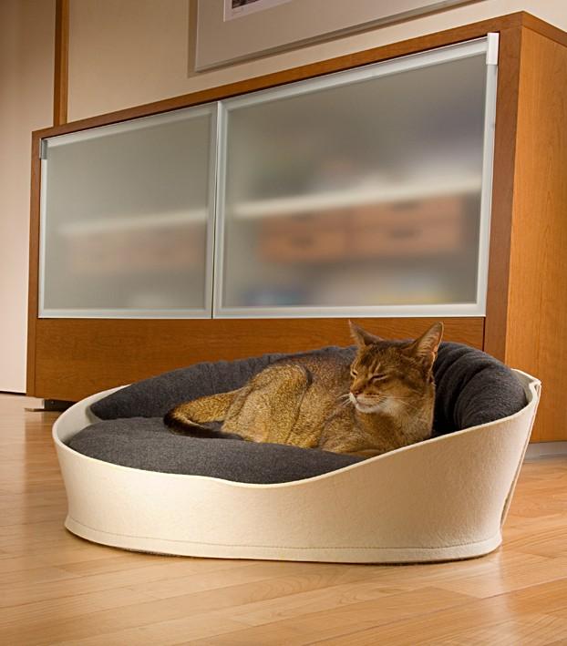 Спальное место для кошки своими руками фото