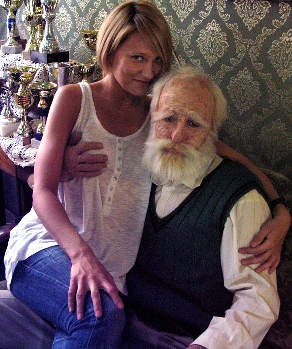 Старый бабка с дедом сексом занялись 185