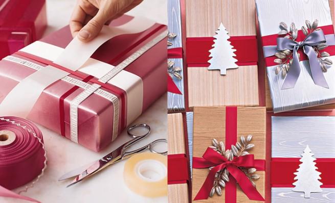 Как украсить коробку на новый год своими руками